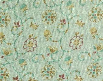 Scroll, sage, 66180202, col 02, Autumn Impressions, Camelot Fabrics, cotton, cotton quilt, cotton designer