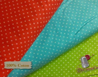 3 prints, Peas red, green, turquoise, Henry Glass, 100% cotton, cotton design, quilting quality, kit 3 prints