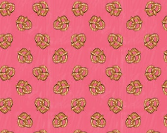 Pretzel, City Girl, 26180104J, col 01, Camelot Fabrics, 100% Cotton, (Reg 2.99 - 17.99)