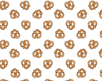 Pretzel, City Girl, 26180104J, col 02, Camelot Fabrics, 100% Cotton, (Reg 2.99 - 17.99)