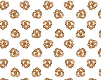 Pretzel, City Girl, 26180104J, col 02, Camelot Fabrics, 100% Cotton, (Reg 5.29 -22.95)