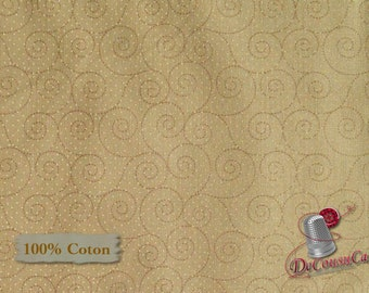 Beige, Basically Hugs, 25041, Red Rooster, multiple quantity cut in 1 piece, 100% Cotton, (Reg 2.99-17.99)