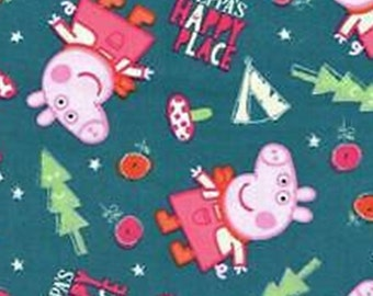 Peppa Pig, Peppa's Happy Place, Springs Creatives, CP64657, 100% Cotton, quilt cotton