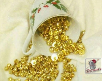 12 Buttons, 9mm, 11mm,  gold, plastic, rod, vintage, déco christmas, BM50, (Reg 4.80)