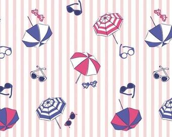 Parasol, sunglasses, Summer Days, Laura Ashley, 71190303, col 01, Camelot Fabrics, cotton, cotton quilt, cotton designer