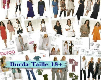 50%, 9 models, (Reg 8.99 -12.99), Burda, Women, 16-34, new, uncut.