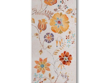 "Panel, Flowers, 18""X44"", 66190106, Free Spirit, Camelot Fabrics, 100% Cotton"