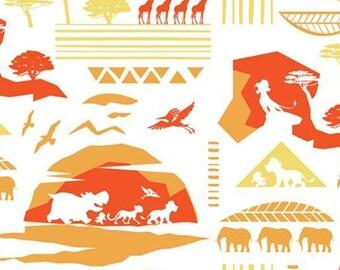 The Lion Guard, 85250105, col 06, Camelot Fabrics, cotton, cotton quilt, cotton designer