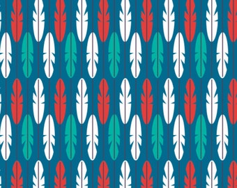 Feather, Birds of Paradise, 28170105, col 02, Camelot Fabrics, 100% Cotton, quilt cotton