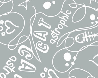 Catastrophic, 34180107, col 03, Cat Rules, Camelot Fabrics, Camelot Fabrics, cotton, cotton quilt, cotton designer