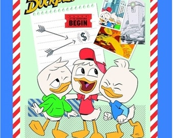 "Panel, Ducktales, 36 ""X44"", Picsou, Springs Creative, CP66236, Cotton, Quilting,"