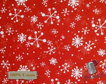 Red, Peppermint Reindeer, Studio e, 4151, multiple quantity cut in one piece, 100% Cotton, (Reg 2.99-17.99)