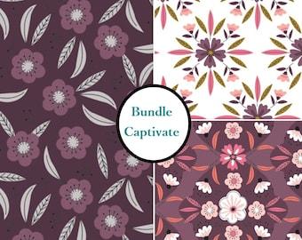 Kit 3 prints, choose your format, 1 of each print, Captivate, Bundle