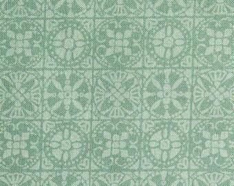 Tile, sage, 66180205, col 01, Autumn Impressions, Camelot Fabrics, cotton, cotton quilt, cotton designer