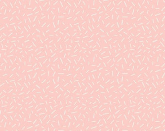 Sprinkles in Light Pink, Ginger Bread, 42170108, #2, Camelot Fabrics, 100% Cotton