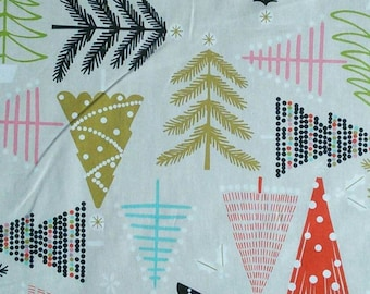 Trees, Holiday Pines, The Alexander Henry, 100% Cotton