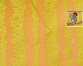 Glitz Bars, salmon, gold, Michael Miller Fabrics, 6930, multiple quantity cut in one piece, 100% Cotton, (Reg 2.39-17.29)