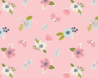 Flower, I believe in unicorns, 61170604, col 03, Camelot Fabrics, cotton, cotton quilt, cotton designer