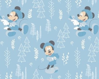 Mickey, 85270406, col 1, Mickey in the meadow,, Camelot Fabrics, cotton, cotton quilt, cotton designer