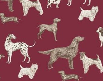 Hunterhill, port, Laura Ashley, The Hunterhill, 71180105, col 01, Camelot Fabrics, 100% Cotton