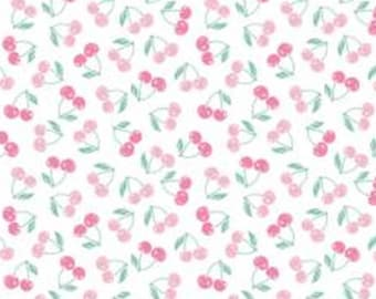Mon Cheri, cherry, pink, white, 71190109, col 01, The Girls Collection, Camelot Fabrics, cotton, cotton quilt, cotton designer
