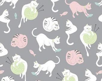 Cat, Purrfect Day, 9901, Riley Blake, cotton quilt, cotton designer