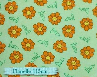 ON SALE, Flower orange, green, (Reg 2.30 - 7.99)