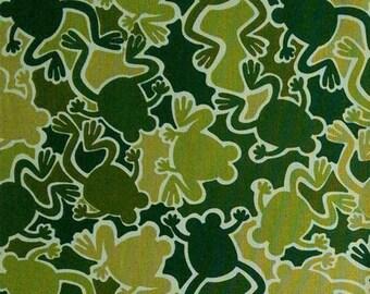 Frog, Camo Mix, Benartex, 4819, cotton, cotton quilt, cotton designer