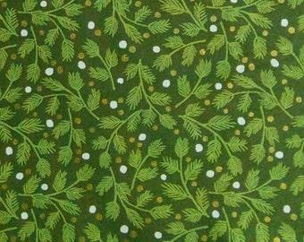 Mistletoe, Green, Andover, 9100, fabric, cotton, quilt cotton