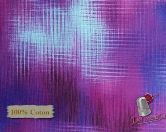 Violet, Blue, Aflutter, Elizabeth Isles, Studio e, 3915, multiple quantity cut in one piece, 100% Cotton