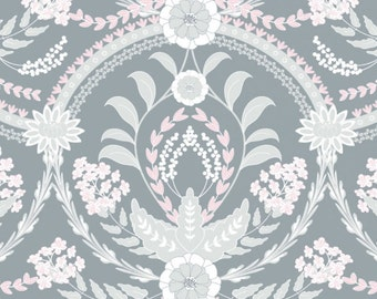Almieda, Gris, The Grace, Laura Ashley, 71170306, 01, Camelot Fabrics, cotton, cotton quilt, cotton designer