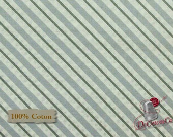 END OF BOLT, Stripe gray, Sparkle, Windham Fabrics, 42379, multiple quantity cut in one piece, 100% Cotton