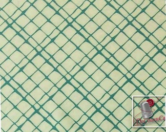 Dont fence me in, teal, cream, Michael Miller Fabrics, 6909