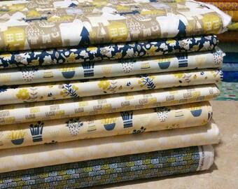 Bundle, 8 motifs, Neufchâtel, Camelot Fabrics,