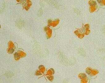 Butterfly, orange, 66180204, col 03, Autumn Impressions, Camelot Fabrics, cotton, cotton quilt, cotton designer