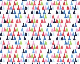 Long Triangles, Michael Miller, CD7413, 100% Cotton, (Reg 2.99-17.99)