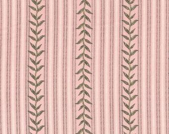 Stripes, leaves, 9261, E,  Andovers, 100% Cotton, quilt cotton, designer cotton