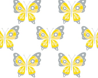 Butterfly, Flutter & Buzz, 6141805-01, Camelot Fabrics, multiple quantity cut in one piece, 100% Cotton