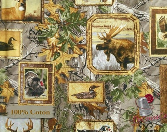 Moose, duck, bear, pheasant, eagle, loon, chervil, forest, 10084, Sykel Enterprises, Realtree, (Reg 2.99-17.99)