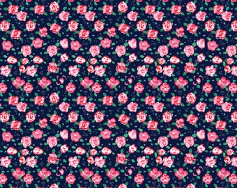 Flower, City Girl, 26180105J, col 01, Camelot Fabrics, 100% Cotton