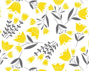 Tulip, Flutter & Buzz, 6141802-03, Camelot Fabrics, multiple quantity cut in one piece, 100% Cotton