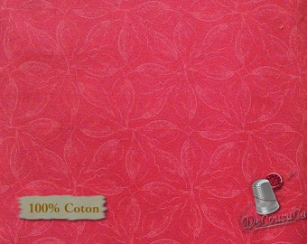 Hot rose ,Mixers, Dainty, Free Spirit, multiple quantity cut in one piece, 100% Cotton, (Reg 2.99-17.99)
