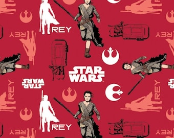 Star Wars, Rey, The force awakens, 7360104, col 03, Camelot Fabrics, cotton, cotton quilt, cotton designer