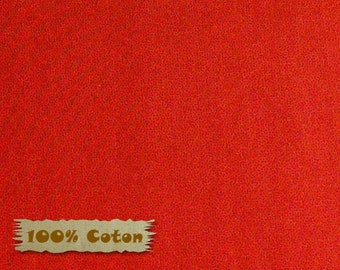 End of bolt, DARK RED, Crystals, Red Rooster, 26784, 100% Cotton, plain textured, (Reg 2.99-17.99)
