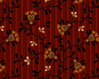 Berries, Blossoms, Janet Rae Nesbitt, Henry Glass & Co, 8835, multiple quantity cut in 1 piece