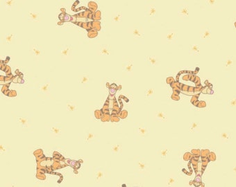 Disney, Ti-Grou, Winnie the Pooh, 85430103, col 1, Camelot Fabrics, 100% Cotton