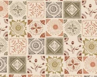 Mosaic, Home on the Prairie, 30180301, col 01, Camelot Fabrics, 100% Cotton