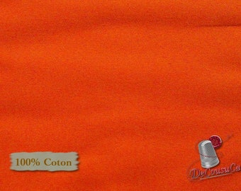 DARK ORANGE, 100% cotton, quilt cotton, Camelot Fabrics, multiple quantity cut in one piece,