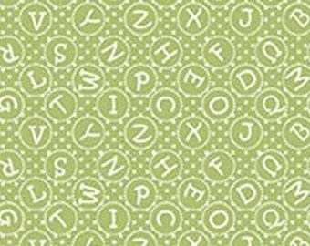 Alphabet, My little sunshine, Benartex, 03128, col 10, cotton, cotton quilt, cotton designer