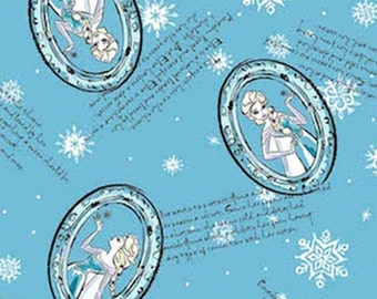 Disney, Reine des Neiges, Elsa, Springs Creative, CP54504, 100% Cotton